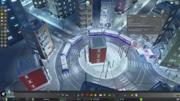 Cities: Skylines. Обзор дополнения Snowfall - Лёша играет