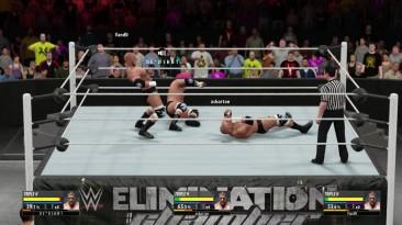 "WWE 2K16 ""Эго Рестлера Triple H В КУБЕ (ОНЛАЙН ТРОЙНИК)"""
