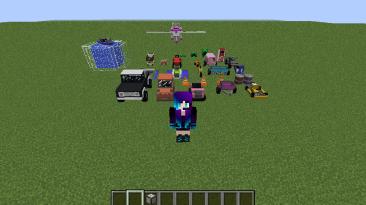 "Minecraft ""MrCrayfish's Vehicle [1.15.2] [1.12.2]"""