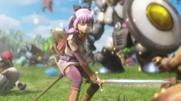 "Dragon Quest Heroes 2 ""Трейлер анонса"" | PS4"