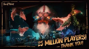 Количество игроков в Sea of Thieves достигло 25-ти миллионов