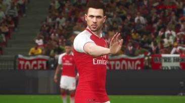 PES 2018 - Arsenal Трейлер