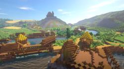 Первый трейлер ремейка Kingdom Come Deliverance в Minecraft