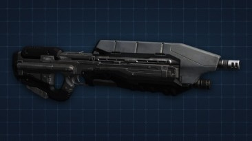 """Star Wars: Knights of the Old Republic """"Halo assault rifle"""""""