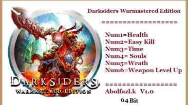 Darksiders Warmastered Edition: Трейнер/Trainer (+6) [1.0: x32-64] {Abolfazl.k}