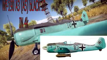 "War Thunder ""камуфляж на Fw190A5"""