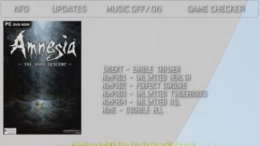 Amnesia: The Dark Descent: Трейнер (+4) [1.0] {h4x0r}