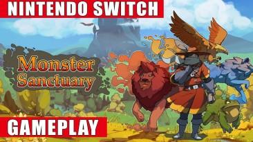 Видео игрового процесса Switch- версии Monster Sanctuary