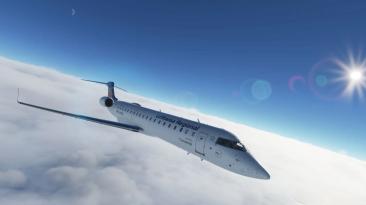 Новые скриншоты и трейлер обучающих видео CRJ для Microsoft Flight Simulator