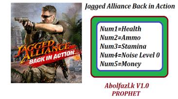 Jagged Alliance: Back in Action: Трейнер/Trainer (+5) [1.0] {Abolfazl.K}