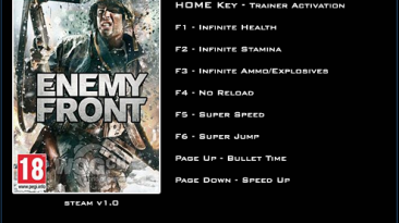 Enemy Front Тренер/Trainer (+8) [1.0] {LinGon}