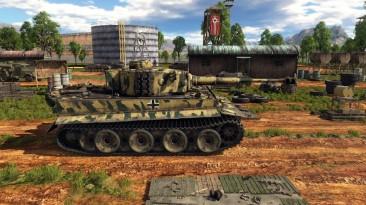"""War Thunder """"Tiger H1 field summer cammo"""""""