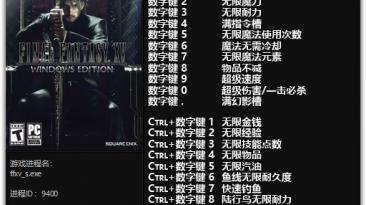 Final Fantasy 15: Трейнер/Trainer (+15) [DEMO] {FLiNG}