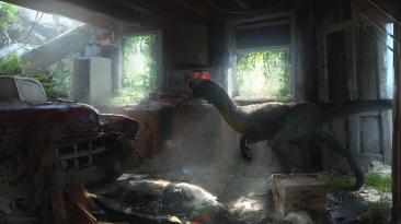 "Half-Life: Alyx ""Демоверсия мода Jurassic Park: Trespasser VR"""