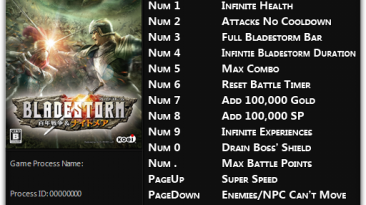 Bladestorm: Nightmare: Трейнер/Trainer (+14) [1.0 - 1.01] {FLiNG}