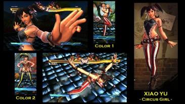 "Street Fighter X Tekken ""Xiaoyu - Circu Girl"""