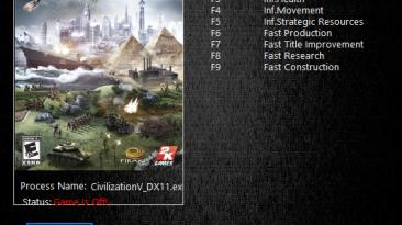Sid Meier's Civilization 5: Трейнер/Trainer (+8) [1.0.3.279] {MrAntiFun} - NORMAL VERSION