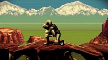 16-битная версия трейлера Mass Effect: Andromeda