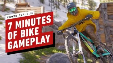 7 минут геймплея Riders Republic