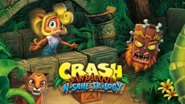 Релиз перевода Crash Bandicoot N. Sane Trilogy