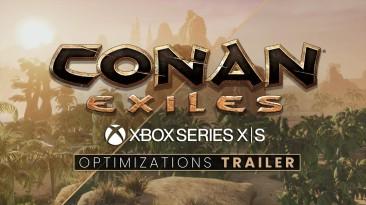 Разница поколений - вышел трейлер Conan Exiles с улучшениями для Xbox Series X|S