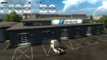 "Euro Truck Simulator 2 ""Большой гараж Hindelang"""