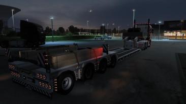 "Euro Truck Simulator 2 ""Тюнинг для низкорамного трала v1.0.1 (1.39-1.40)"""