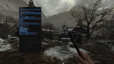 """Resident Evil: Village """"FOV слайдер - свободная камера - отключение виньетки"""""""