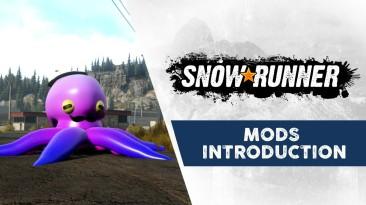 Сообщество моддеров SnowRunner уже создаёт потрясающий контент