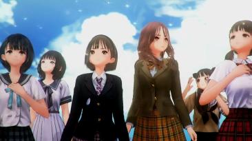 Новый рекламный ролик Blue Reflection: Second Light о девушках и их странном мире