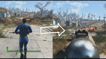 "Fallout 4 ""мод автоматического переключения камер - MGS Aiming by PeterTran"""