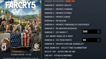 Far Cry 5: Трейнер/Trainer (+17) [1.02] {LinGon}