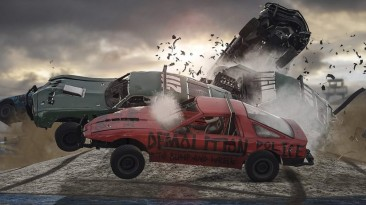 Геймплейный ролик гоночной аркады Wreckfest от IGN