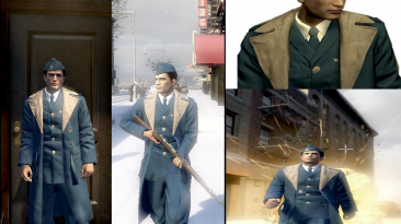 """Mafia 2""""U.S. AIR FORCE OFFICER WINTER COAT"""""""