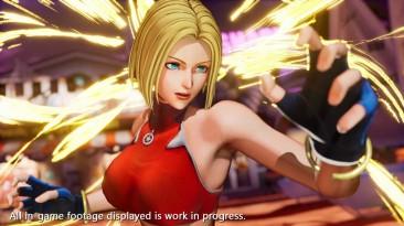 Блю Мэри присоединится к ростеру The King of Fighters XV