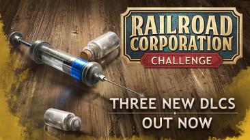 Сразу 3 DLC вышло для Railroad Corporation
