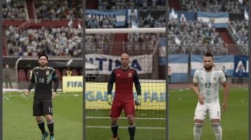 """FIFA 18 """"Argentina 2018 NEW kits + minikits"""""""