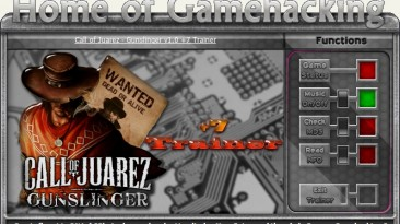 Call of Juarez: Gunslinger: Трейнер/Trainer (+6) [1.0] {sILeNt heLLsCrEAm/HoG}