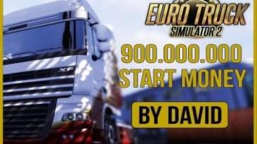 Euro Truck Simulator 2: Чит-Мод/Cheat-Mode (900 000 000 Start Money)