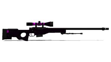 "Counter-Strike: Global Offensive ""AWP | Purple Web"""