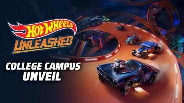Новый трейлер Hot Wheels Unleashed демонстрирует трассу Кампус колледжа