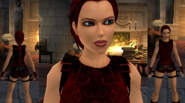 """Tomb Raider """"Full red Lara's Outfit"""""""