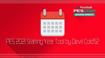 "PES 2021 ""Программа - Starting Year Tool 2.0 [Devil Cold52]"""