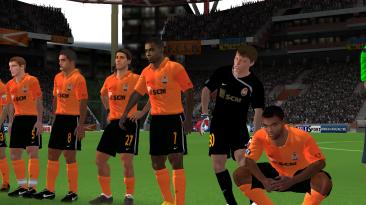 "FIFA10 ""Команда Шахтер из сезона 2008-2009"""