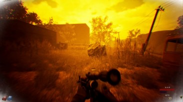Сражение с зомби в фанатском ремейке S.T.A.L.K.E.R.