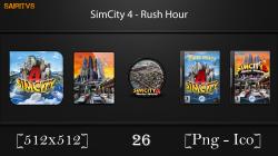 """SimCity 4: Rush Hour """"Иконки (ArtGamer)"""""""