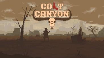 Новый двухмерный шутер Colt Canyon появился на PlayStaytion 4