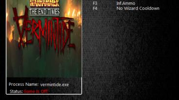 Warhammer End: Times Vermintide: Трейнер/Trainer (+3) [1.2.3.0] {MrAntiFun}