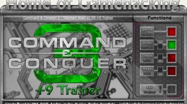 Command & Conquer 3 - Tiberium Wars: Трейнер/Trainer (+9) [1.09] {HoG/sILeNt heLLsCrEAm}