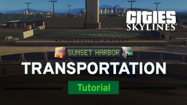 Свежий ролик DLC Sunset Harbour для Cities: Skylines демонстрирует новые варианты общественного транспорта